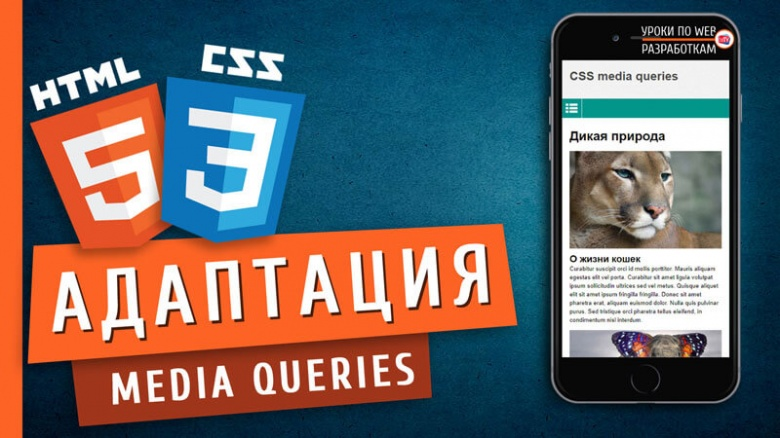 Media queries CSS / Адаптации страниц